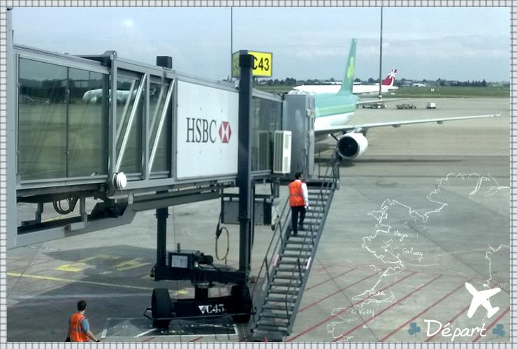 Irlande aeroport