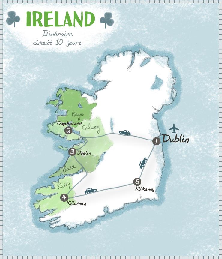 Irlande itinéraire 10 jours