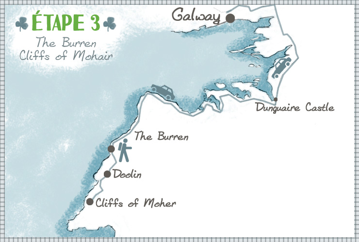 The burren map