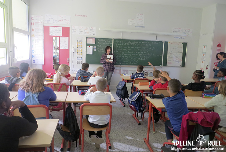 intervention scolaire auteur