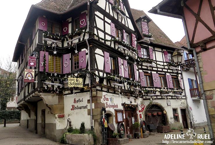 Obernai marché de noel